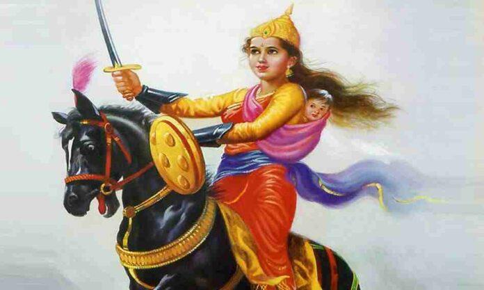 Biography of Rani Lakshmibai in Hindi